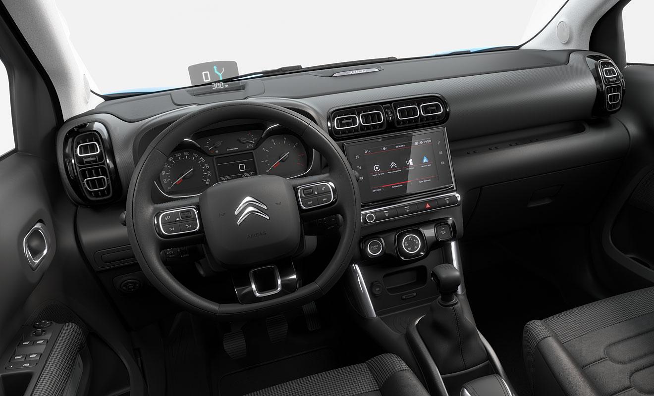 Das Cockpit des C3 Aircross. Foto: Citroen