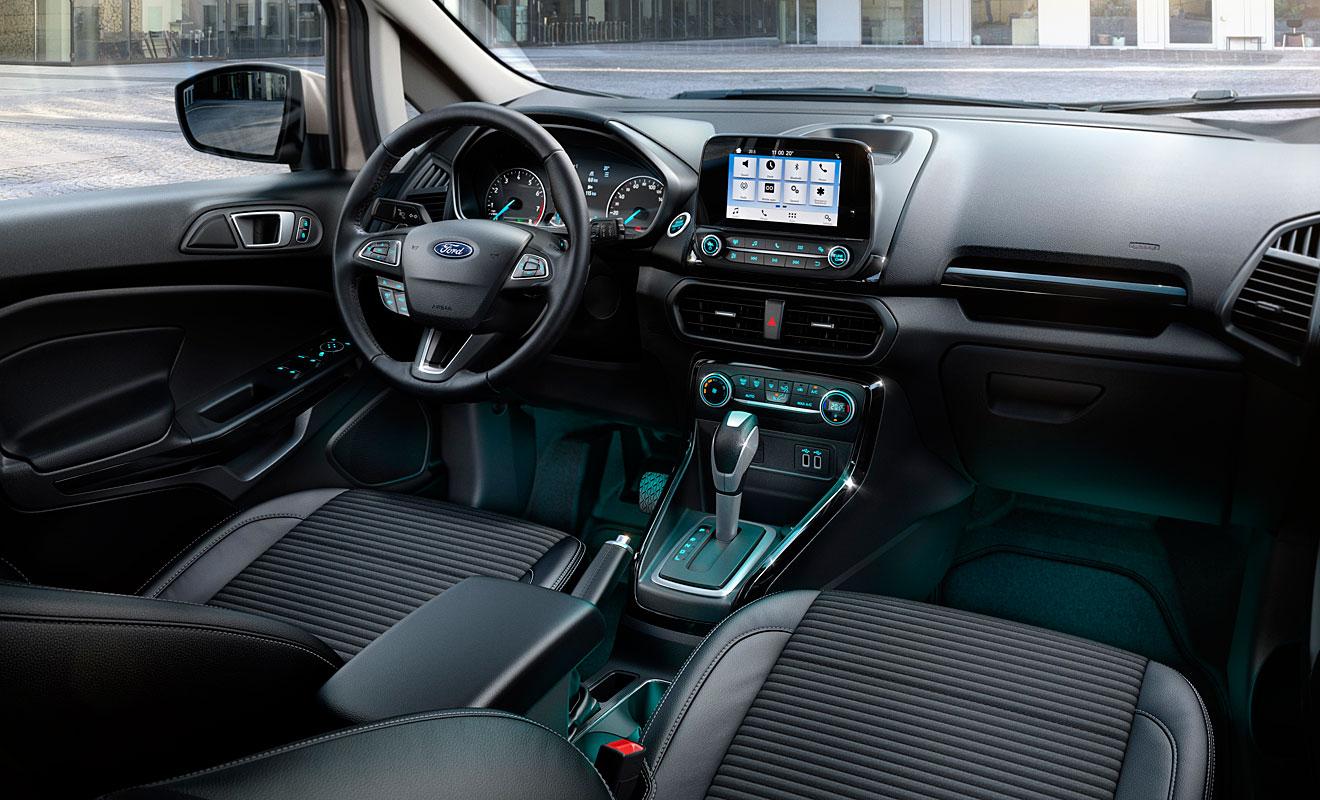 Das Cockpit des Ecosport. Foto: Ford