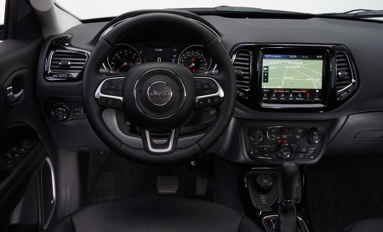 Das Cockpit des Compass. Foto: Jeep