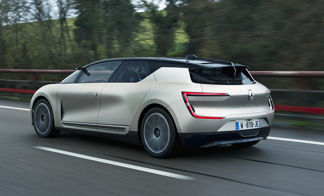 Das Heck des Symbioz. Foto: Renault