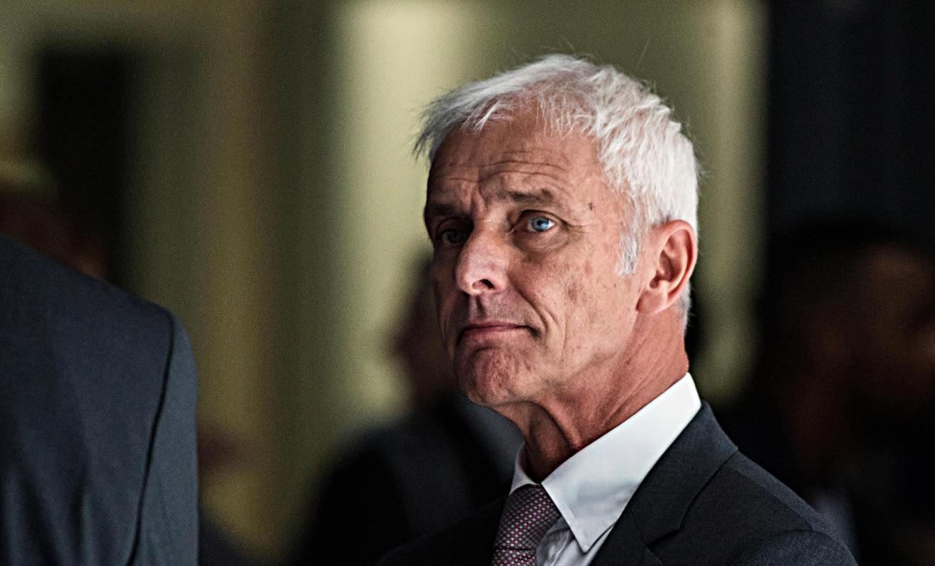 VW-Chef Matthias Müller. Foto: dpa